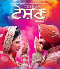 Teshan (2016) Punjabi Movie DVDScr 700MB