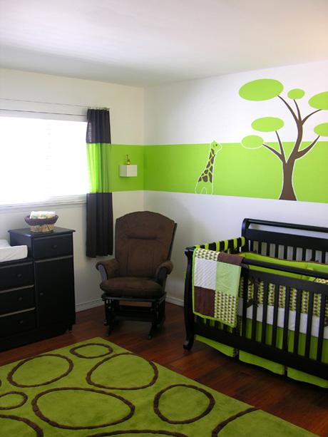 Modern Baby Nursery Design And Ideas: Nursery Room Ideas: Green Themes Nursery Ideas