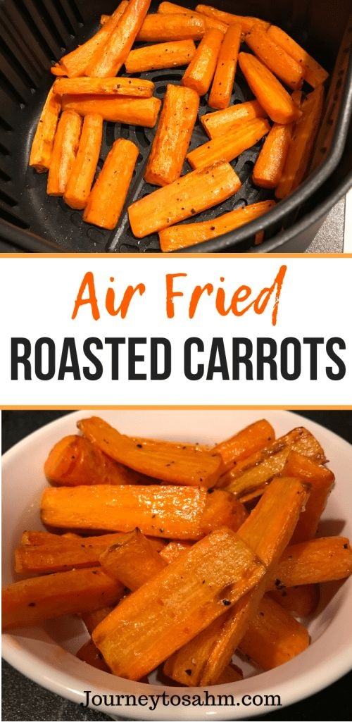Air Fried Roasted Carrots