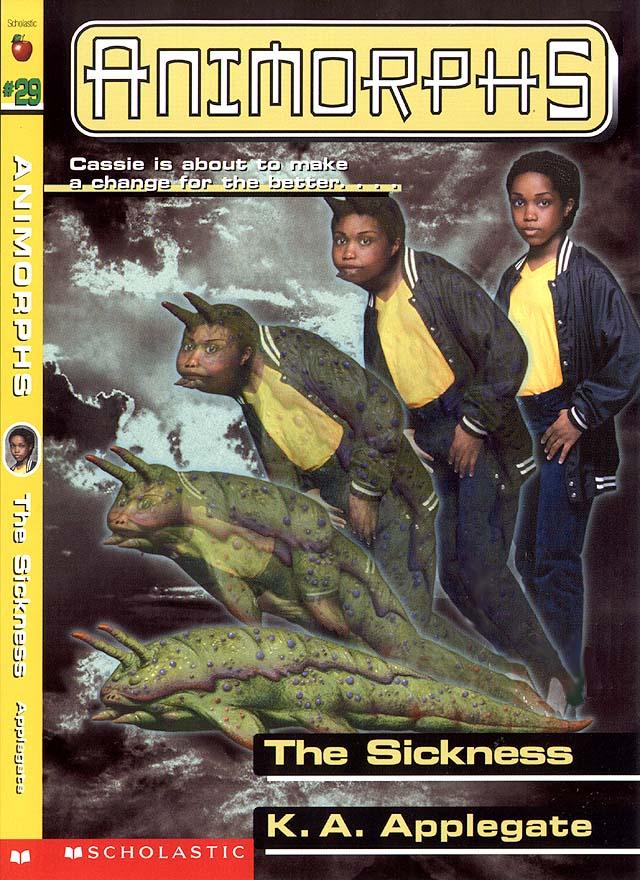 cinnamon bunzuh an animorphs review blog book 29 the sickness