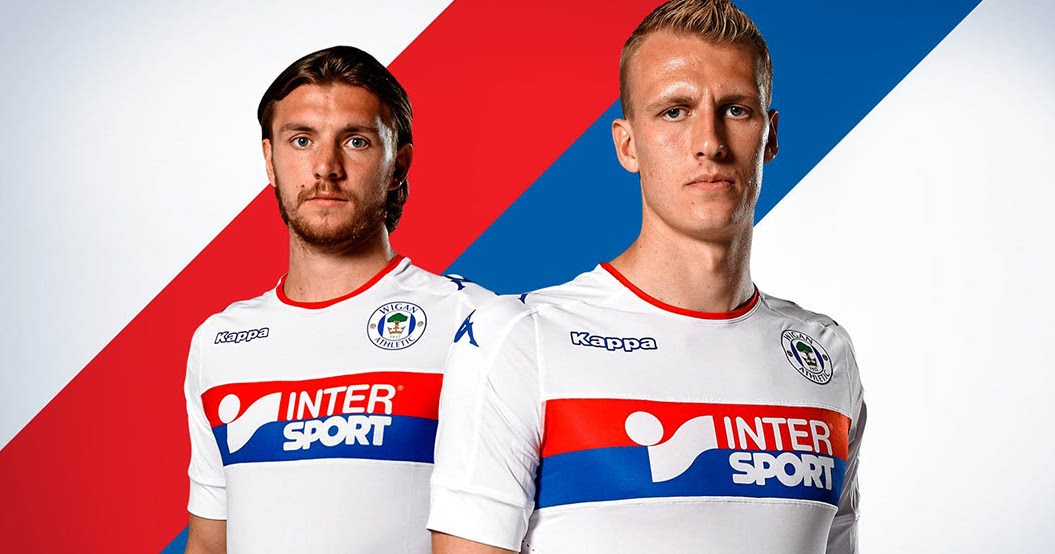wigan athletic 16 17 home away and third kits released
