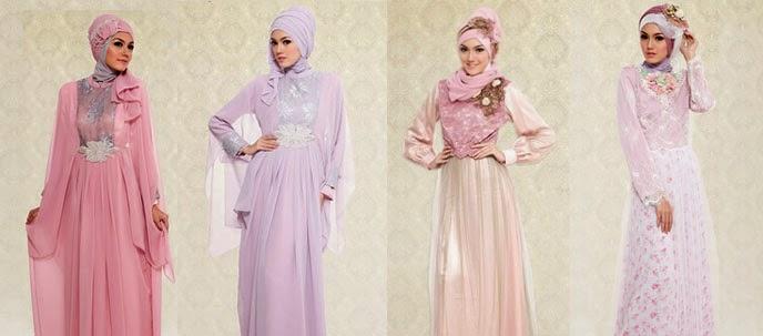 5 Model Baju Pesta Muslimah Terbaru Desain Modern