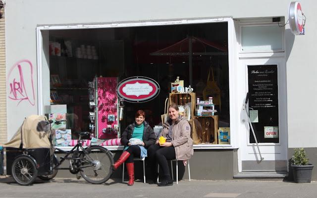 Endlich ein Tortenladen: Perlen aus Zucker in Kiel
