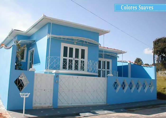 Fotos de fachadas de casas para pintar for Colores para mi casa