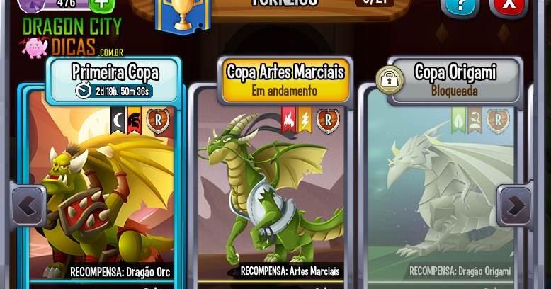 Torneio do Dragão Colombo - Dragon City Dicas - Cruzamentos ... | 408x778