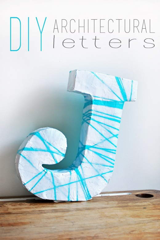 Lettere dell 39 alfabeto tridimensionali pdf da stampare for Diy architectural drawings