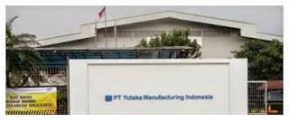 Loker Bekasi Terbaru 2016 di PT.Yutaka Manufacturing Indonesia Tingkat SMA/SMK