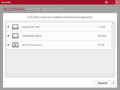 Programa gratuito para recuperar archivos borrados