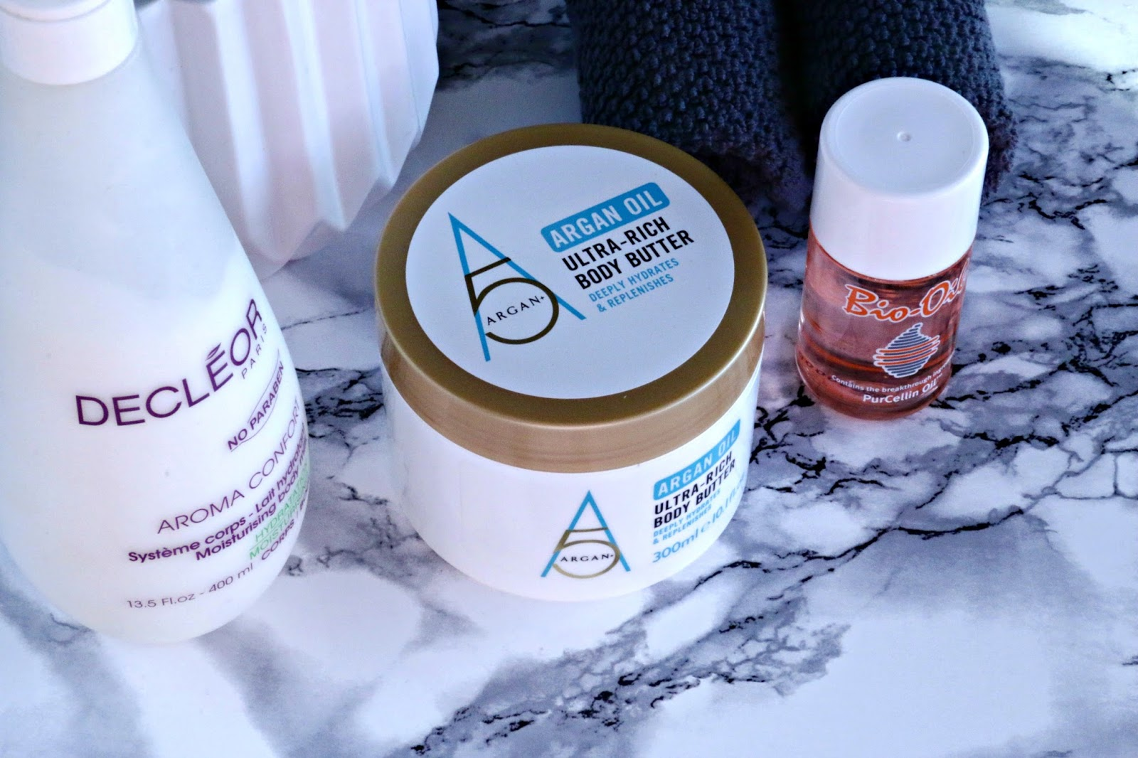 How To Choose Which Body Moisturiser Is Right For You featuring Decleor, Bio Oil and Argan+