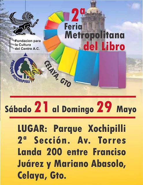 Feria de libro en Celaya.
