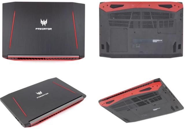 Acer Predator Helios 300 design