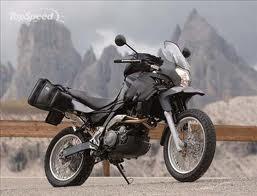 Review Of Motorcycle Aprilia Pegaso 650 Trial Chopper