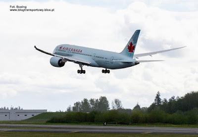 Boeing 787-8, C-GHPQ, Air Canada