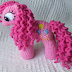 How to Crochet Pink Horsetail - Pattern
