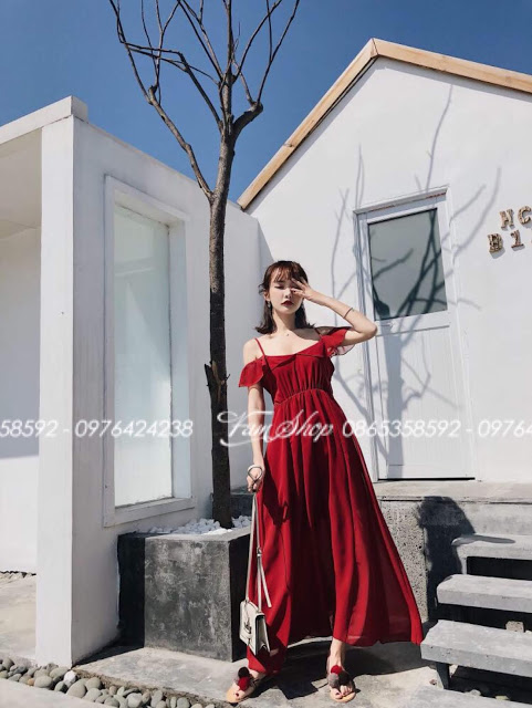 Shop ban vay maxi di bien tai Thanh Xuan Bac