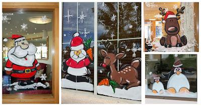 Ideas decorar ventanas-navidad