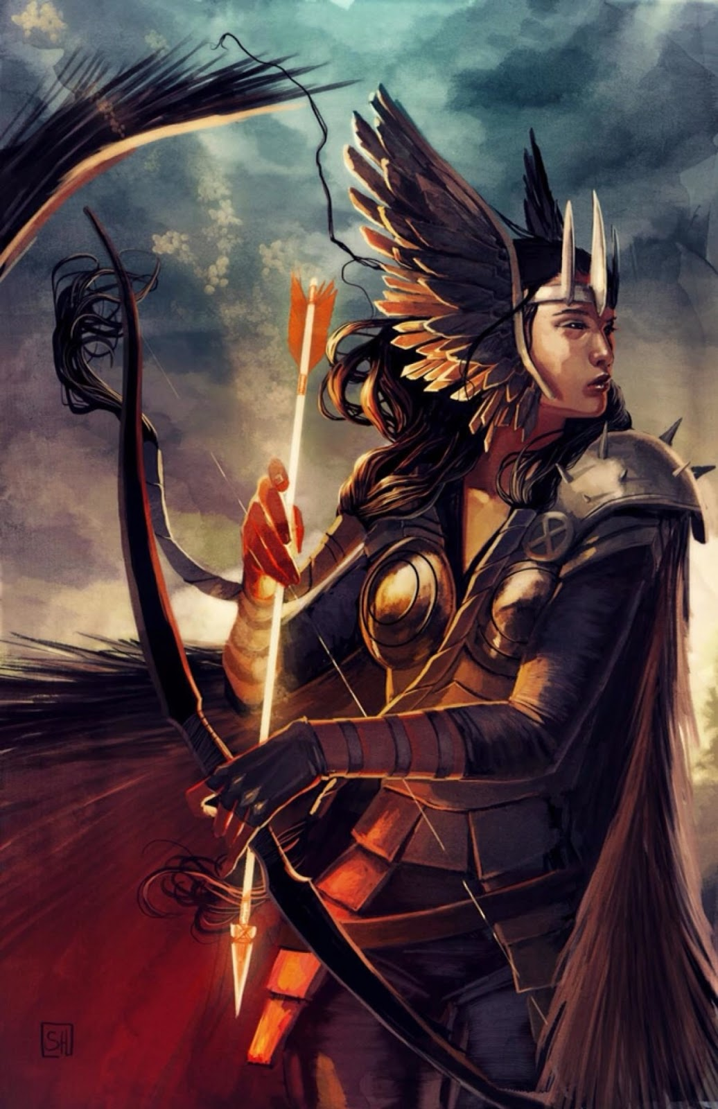 Fashion and Action: Valkyrie, Thor, & Dani Moonstar ...