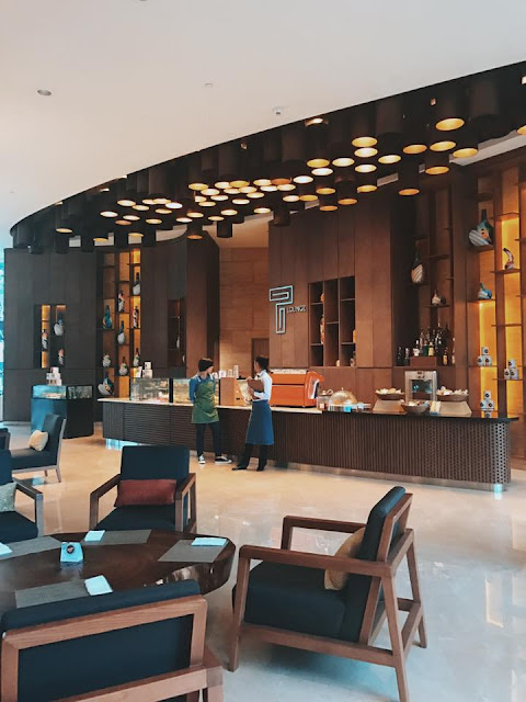 Lobby Hilton Hotel
