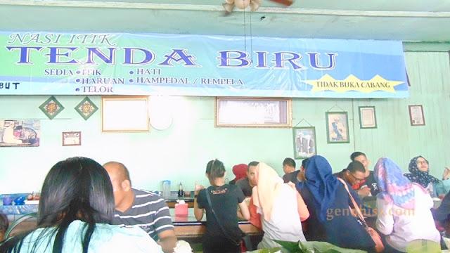 Warung Makan Nasi Itik Gambut Tenda Biru