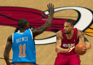 NBA 2K13 Rashard Lewis Cyber Face Patch