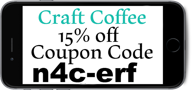 15% off Craft Coffee Coupon, Discount Code and Promo Code 2021-2021 July, Aug, Sep, Oct, Nov, Dec