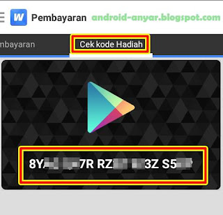Cara Gratis Beli Google Play Gift Card Indonesia