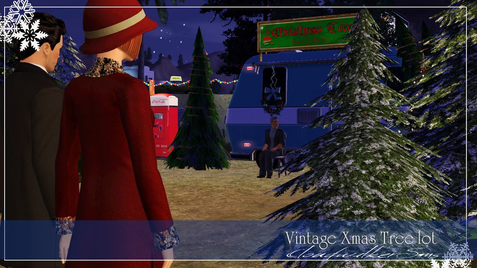 Sims 3 Christmas Tree.My Sims 3 Blog Vintage Christmas Tree Lot By Cloudwalker Sims