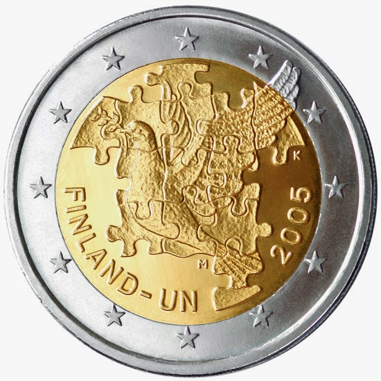 2 euro Finland 2005, United Nations Finland's membership