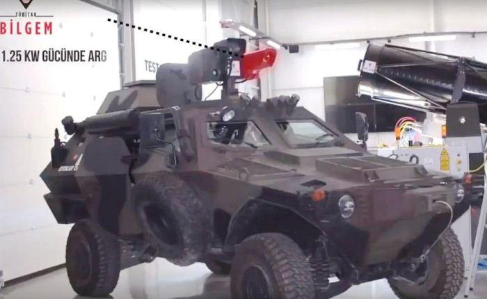 Sistem senjata laser Turki LSS