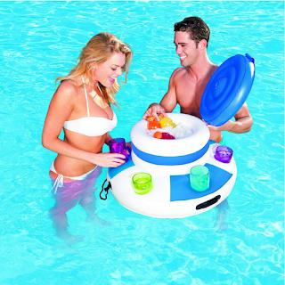 bar flottant pour piscine
