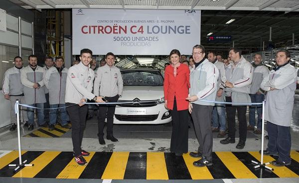 50.000 unidades Citroën C4 Lounge
