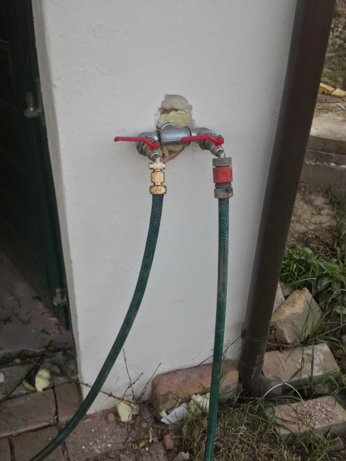 holz und metall - ein heimwerkerblog: wasser im garten/brunnenpumpe
