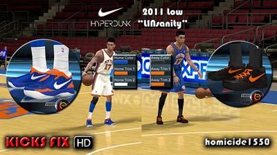 info for c5d21 a36bd NBA 2K12 Nike Hyperdunk Low HD Shoes Patch