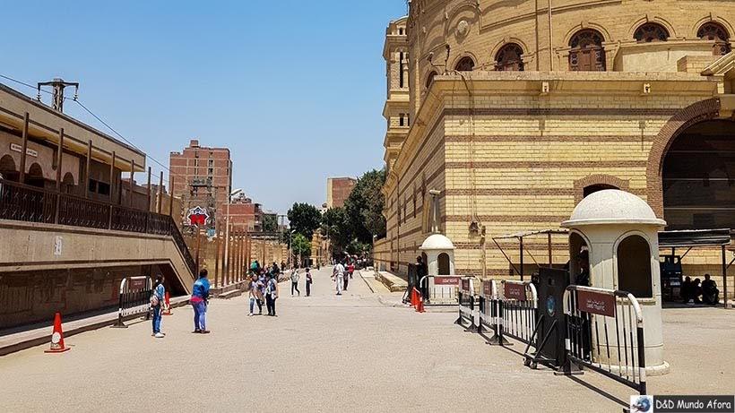 Ruas do Cairo Copta: o bairro dos cristãos no Egito