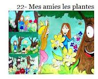 22- Mes amies les plantes