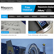 Magazon WordPress Theme - Templates Doctor | Free Blogger Templates For Your Own Blog