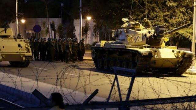 Golpe de Estado en Turquía: Ejército dice haber tomado el poder del país