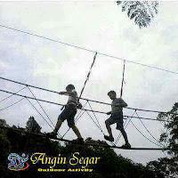 paket high ropes puncak