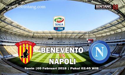 Prediksi Benevento VS Napoli 05 Februari 2018