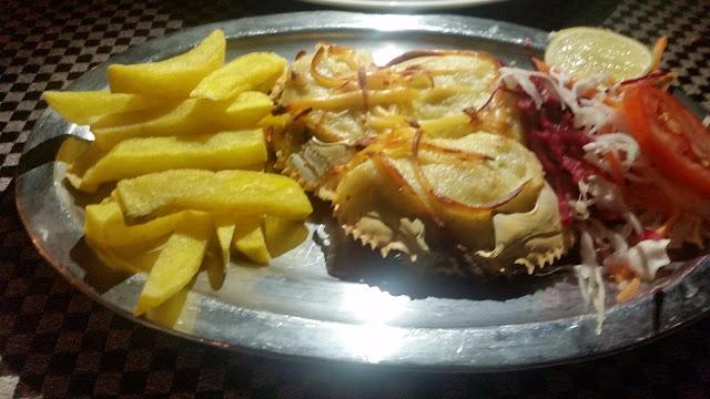 Baked Crabs at Souza Lobo