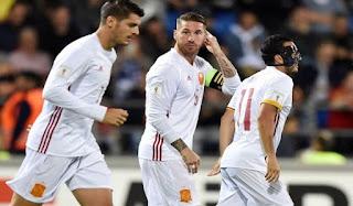 Spanyol Lumat Liechtenstein 8 Gol Tanpa Balas
