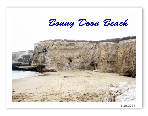 Bonny Doon Beach - Santa Cruz, CA