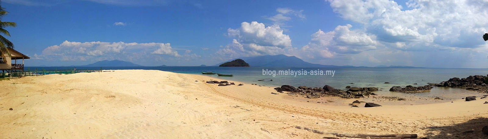 Talang Beach Panoramic View