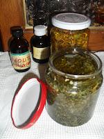 oleoliti con erbe secche fatti in casa