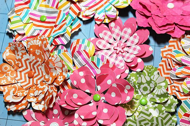 paper flower craft, paper flowers, paper flower bouquet, cameo flowers