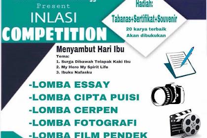 Event Inlasi Competition 2018 SMA Sederajat-Mahasiswa