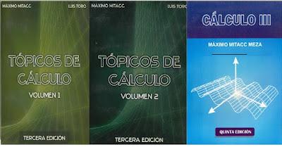 Cálculo: Volumen I, II y III, Máximo Mitacc PDF