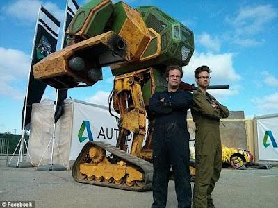 AS Menantang Jepang untuk Duel Robot Raksasa