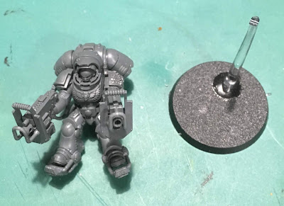 Deathwatch Primaris Inceptors WIP