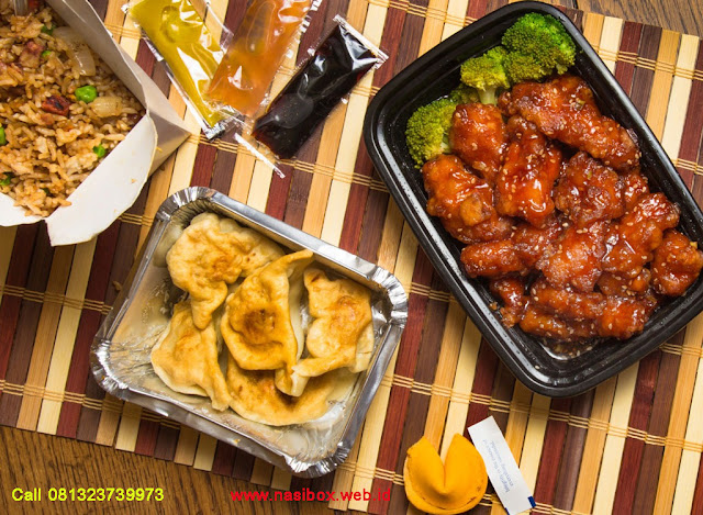 Nasi box chinese food di ciwidey